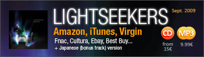 Discover the Lightseekers, rock sensation, first album Flying Free out now!